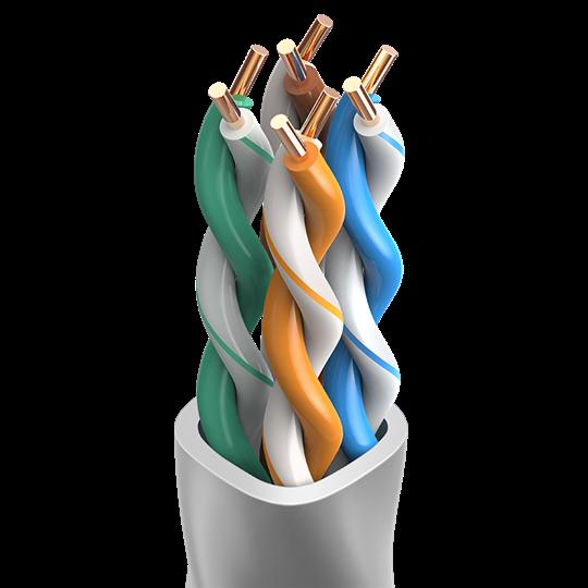 真材实料-超五类无氧铜工程网线